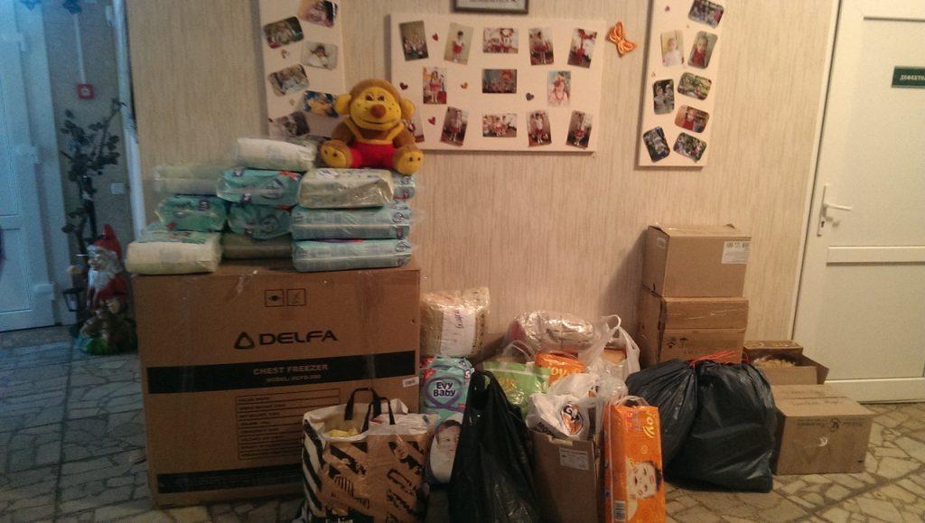 ООО «Экоинтел» помогла дому ребенка в Боярке